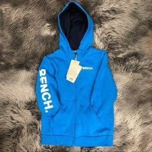 Bench   Boy's Zip-Up Sweater   Blue XL